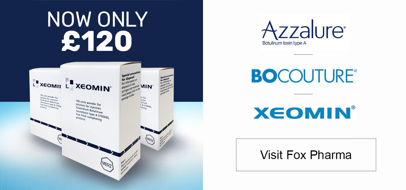 Xeomin - Now only £120