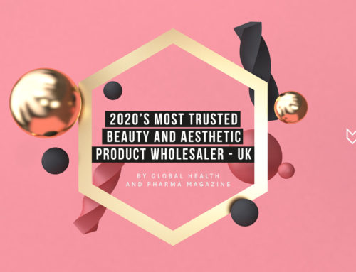 Fox Clinic Wholesale awarded 2020's Most Trusted Beauty and Aesthetic Product Wholesaler!